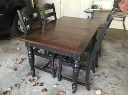 Refinish Kitchen Table Top 25 Best Ideas About Refinished Dining Tables On Pinterest