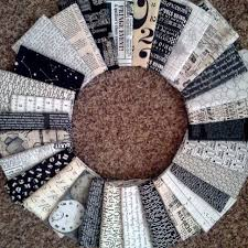 28 best Text Print Quilt Treats images on Pinterest | Patchwork ... & Use V and Co houndstooth pattern with these text prints. Low Volume QuiltQuilting  FabricQuilting ... Adamdwight.com