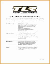Motocross Sponsorship Resume Template Beautiful Sponsorship Proposal