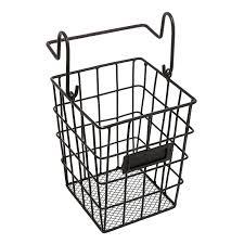 Amazon.com: Modular Black Metal Mesh Wire Hanging Kitchen & Dining Utensils  Storage Basket / Bathroom Toiletries Holder Basket: Home & Kitchen