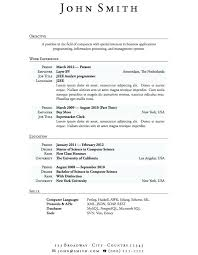 How To Make A Resume For A Highschool Student Classy Resume Templates For High School Graduates High School Teacher