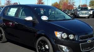 2013 Chevrolet Sonic Hatchback LTZ, Black with black wheels, Burns ...