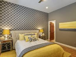 grey and yellow bedroom artistic color decor top with grey and