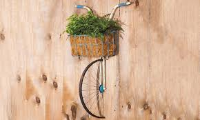 front basket metal bicycle wall decor and planter  on metal bike with basket wall decor with front basket metal bicycle wall decor and planter groupon