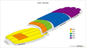 Shen Yun Ohio Theatre Interactive Seating Charts