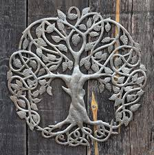 new design celtic inspired tree of life metal wall art