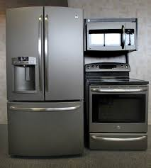 ge slate refrigerator. Swapping Stainless Steel For Slate Appliances Ge Refrigerator