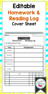 Homework Sheet Template For Teachers Small Homework Assignment Sheet Template Printable Kindergarten 2