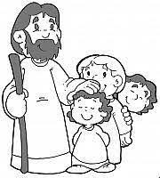 Risultati Immagini Per Gesù Con Bambini Disegni Miracoli E Poi