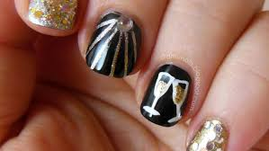 Nail Polish Designs For New Years New Years Eve Nail Art Ideas As Pretty As Your Party Dress