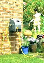 camper water hose storage ideas eagle one garden box holders creative hideaway smart reel with reels