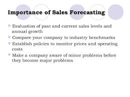 What Is A Sales Forecast Sales Forecasting
