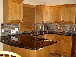 Kitchen Cabinets Granite Countertops Enchanting Honey Kitchen Cabinets With Additional Tagged Honey Oak