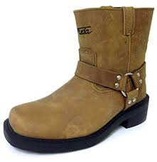 Amazon.com | G4FD <b>Men's Motorcycle Boots</b> Harness <b>Genuine</b> ...
