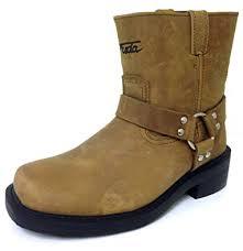 Amazon.com   G4FD <b>Men's Motorcycle Boots</b> Harness <b>Genuine</b> ...