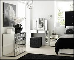 Bedroom Mirrored Furniture Bedroom Ideas On Bedroom Intended For