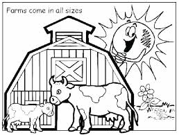 Coloring Pages Farm Animal Coloring Pages Free Barnyard Animals