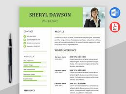 2018 Free Resume Templates Ms Word Pdf Download In 1 Minute