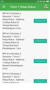 Dengan adanya rencana pelaksanaan pembelajaran yang dimiliki setidaknya dapat diketahui arah. Rpp K13 Sd Kelas 2 Revisi 2017 2018 Dlya Android Skachat Apk
