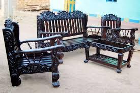 furniture design sofa set. Rustic And Classic Wooden Sofa Set Designs | Nowbroadbandtv Furniture Design .