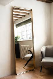 tall slim full length mirror with