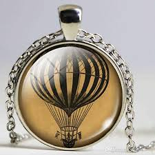 diy hot air balloon necklace hot air balloon pendant handmade diy hot air balloon jewelry gift necklace fashion pendant with 6 29 piece on
