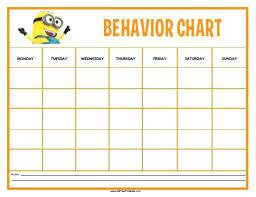 behavior charts for preschoolers template behavior sticker charts printable for preschoolers template unique