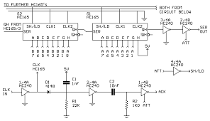 psx controllers how the circuit works