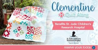 Quilting Fabric, Quilt Fabric, Moda Fabrics, Quilt Kits, Online ... & Clementine Quilt Along Quilt Kit featuring Mama's Cottage by Moda Fabrics Adamdwight.com