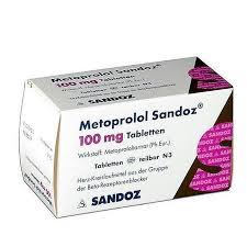 metoprolol 100mg 90tb