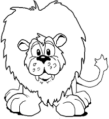 Disegni Per Bambini Piccoli Da Colorare Il Leone Disegni