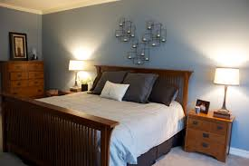 bedroom blue and gray classical dark brown drawer chest artistic flora bedcover design pretty white single