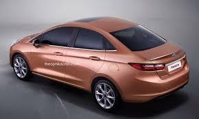 2018 ford fiesta.  Fiesta 2018 Ford Fiesta Sedan Rendering Looks Good But Will It Happen In Ford Fiesta