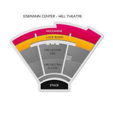 Eisemann Center 2019 Seating Chart