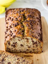 this one bowl chocolate chip banana bread is so easy and seriously so good