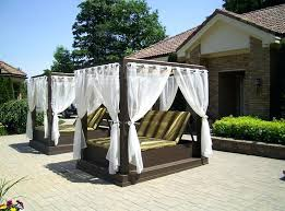 outdoors by design canopy twin poolside canopy beds enhancing summer evenings outdoors by design canopy family