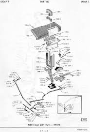 Amc 72 up automatic console floor mount shifter torqueflite 727
