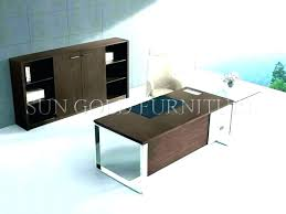 glass and wood office desk top furniture tops table india
