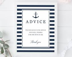 Nautical Baby Shower Games Baby Boy Prediction Cards Printable Etsy