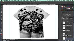 Photoshop Cs6 T Shirt Design Tutorial How To Design A T Shirt In Adobe Photoshop Cs6