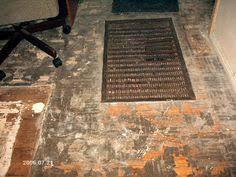 removing glued linoleum from hardwood floors