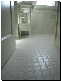 White Floor Tile White Bathroom Tile With Grey Grout sulacous