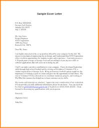 Volunteer Cover Letter Samples 10 11 Volunteer Letters Samples Mini Bricks Com