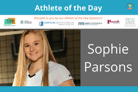 Athlete of the Day: Sophie Parsons - Sports Moms United