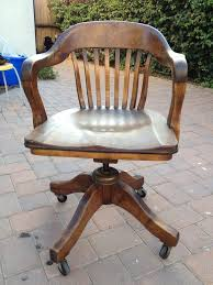vintage office chairs. vintage wood swivel office chair chairs
