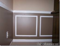 wainscoting dining room. Dining Room Before Wainscoting
