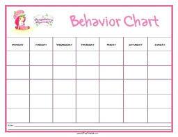 behavior charts for preschoolers template chart behavior reward template free childrens templates behaviour