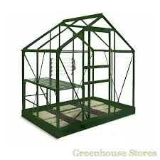 6x4 green halls popular greenhouse horticultural glass 339