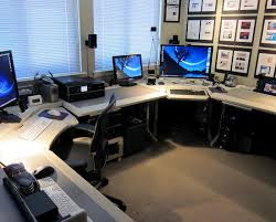 best desktop for home office. Attractive Home Office Desktop Computer 37 Best Workspace Multiple Monitor Images On Pinterest For C