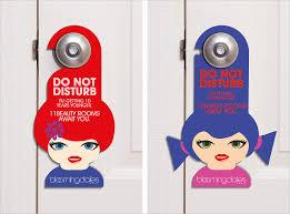 creative door hangers. Blooming Dales Beauty Rooms Door Hangers Creative I
